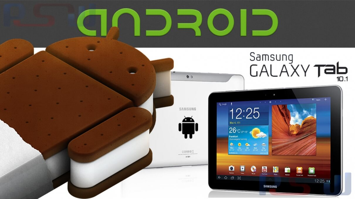 How to Update Samsung Galaxy Tab 10.1 GT-P7500 to Official Android ICS 4.0.4